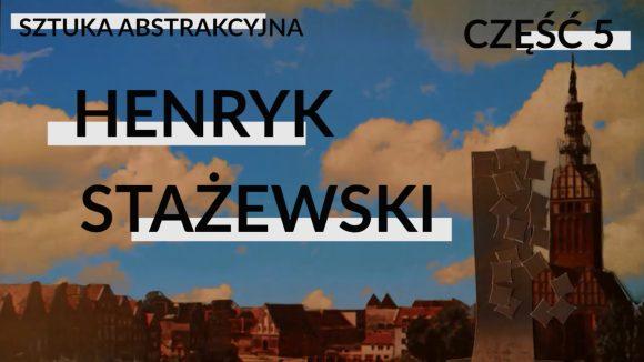 Sztuka abstrakcyjna   część 5 (Henryk Stażewski)
