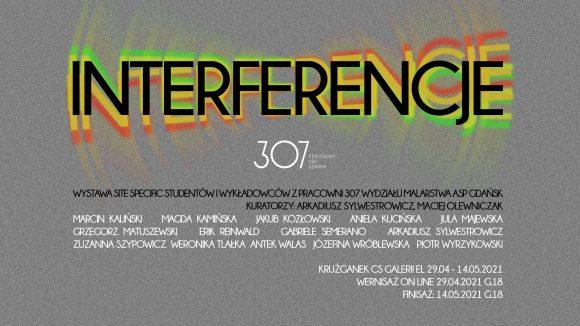 INTERFERENCJE – wystawa studentów i wykładowców pracowni 307 ASP w Gdańsku